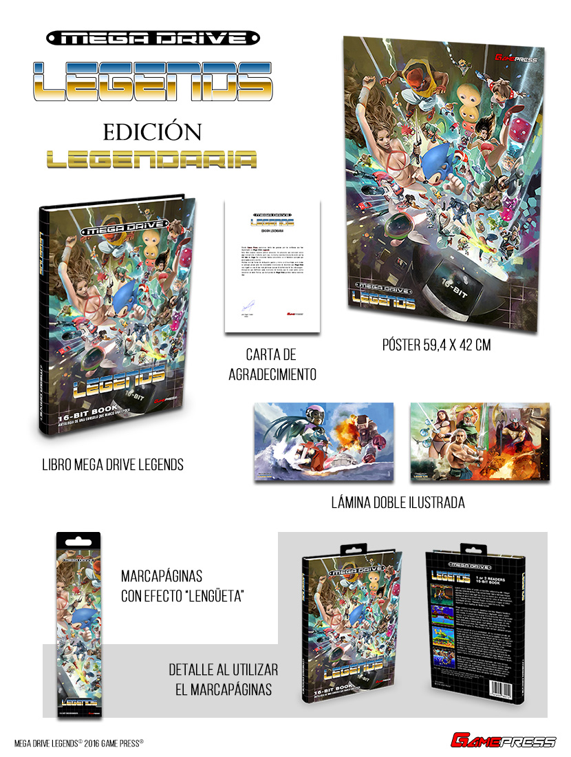 mega drive legends edición legendaria